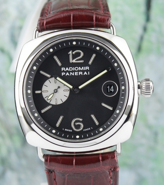 "RARE PANERAI RADIOMIR LIMITED EDITION 42MM WITH ZENITH AUTOMATIC MOVEMENT / PAM 141 ""E"" SERIES"