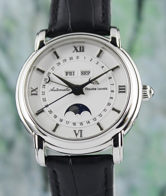 Maurice Lacroix Masterpiece Phase De Lune Automatic Watch
