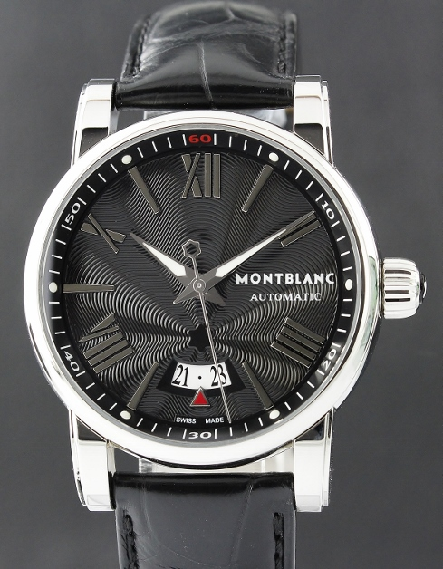 MONTBLANC STAINLESS STEEL 40MM AUTOMATIC WATCH / 7102