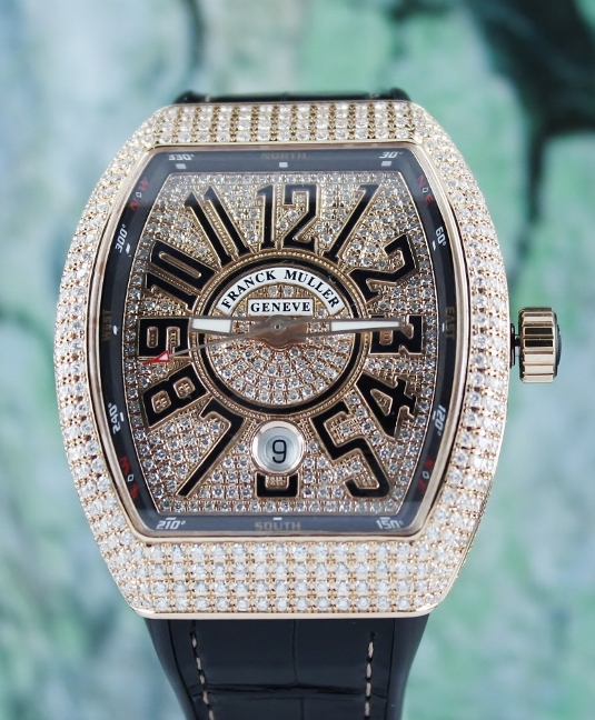 UNWORN NEW FRANCK MULLER VANGUARD COLLECTION / V 41 SC DT