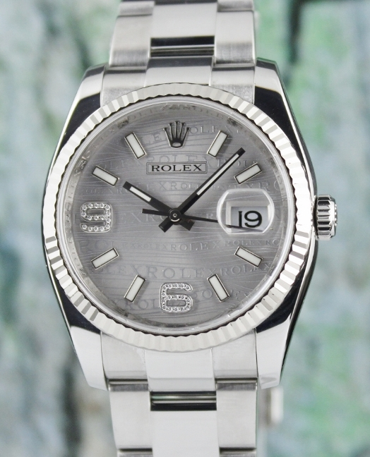 ROLEX MEN SIZE OYSTER PERPETUAL DATEJUST / 116234