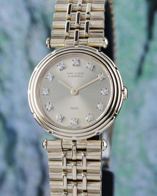 Van Cleef & Arpels 18K Yellow Gold Lady Watch