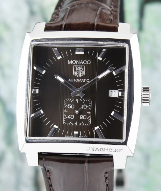 LIKE NEW TAG HEUER STAINLESS STEEL MONACO CALIBRE 6 / WW2115