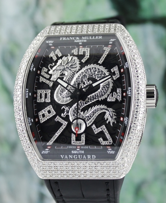 UNWORN NEW FRANCK MULLER VANGUARD DRAGON KING / V 45 SC DT AC NR