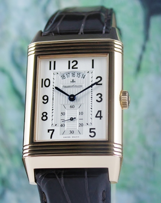 Jaeger Lecoultre XXL 18K Rose Gold Reverso Hometime Limited Edition / 274.2.85