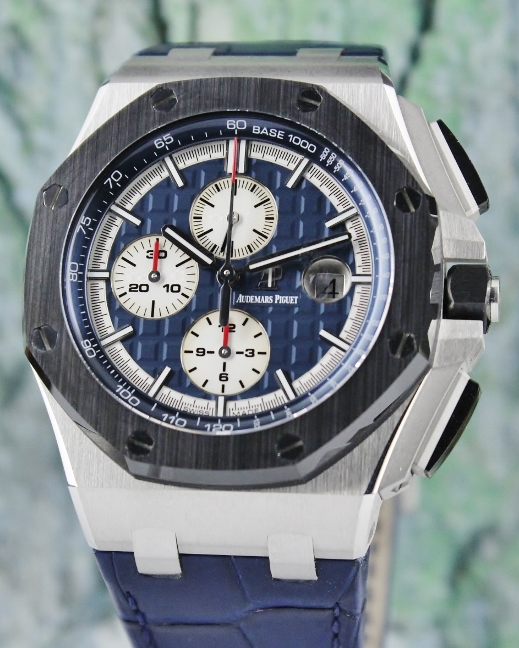 Like New Audemars Piguet Royal Oak Offshore Platinium PT950 Chronograph / 26401PO.OO.A018CR.01