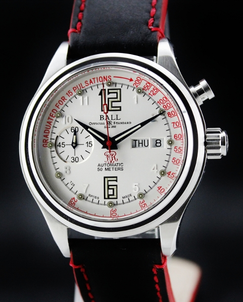 BALL AUTOMATIC PULSE METER DAY DATE WATCH