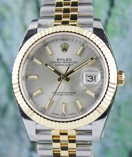 UNWORN ROLEX 41MM OYSTER PERPETUAL DATEJUST / 126333