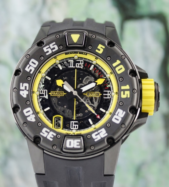 UNWORN RICHARD MILLE DIVER PVD LIMITED EDITION / RM28 AK TI