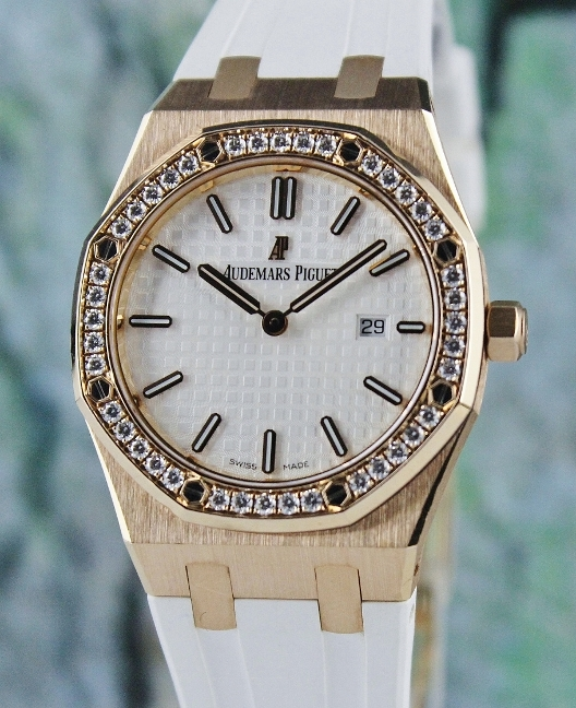 Audemars Piguet Mid Size Royal Oak 18K Rose Gold / 67651OR.ZZ.D010CA.01
