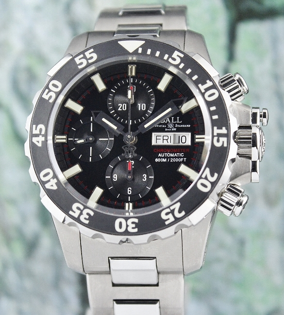 Ball Engineer Hydrocarbon Ceramic COSC NEDU Automatic Watch / DC3026A.SC.BK