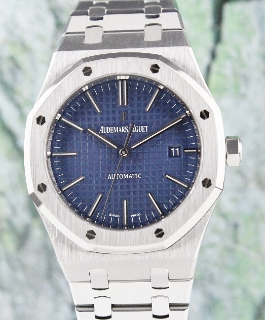Like New Unpolished Audemars Piguet Royal Oak Automatic 41mm 15400ST
