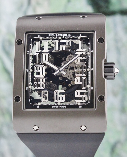 Like New Unpolished Richard Mille RM-016 Ultra Thin Skeleton Dial