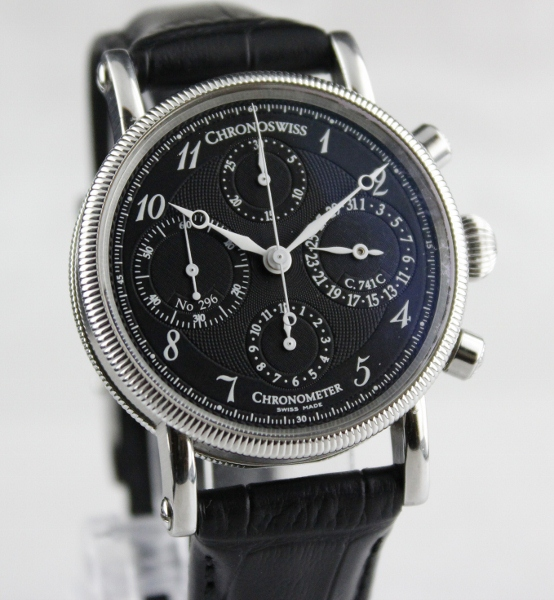 Chronoswiss Chronometer Chronograph Date Watch / CH7523
