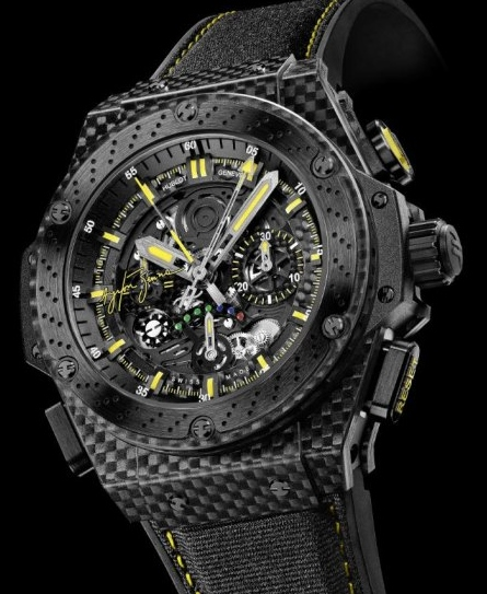 LIKE NEW Hublot Big Bang King Power Ayrton Senna / 719.QM.1729.NR.AES10