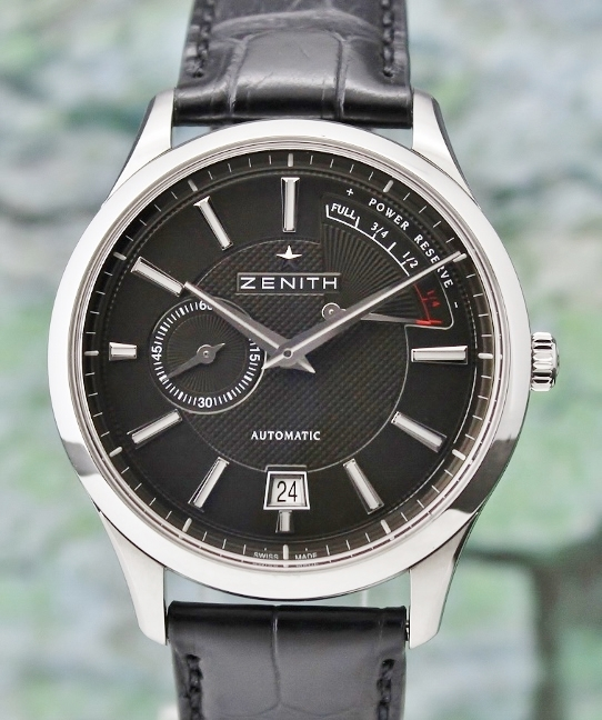 UNWORN ZENITH CAPTAIN POWER RESERVE AUTOMATIC / 03.2120.685/22.C493